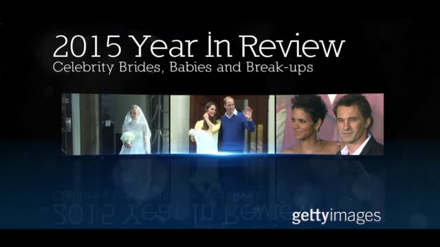 Celebrity Brides Babies and Breakups 2015 Year In Reviews