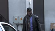 Celebrity chef Ainsley Harriott arrives at GMTV studios SOUTH BANK STUDIOS LONDON at the Celebrity Video Sightings in London at London England
