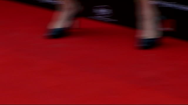 Celebrity red carpet arrivals / interviews **BEWARE Abigail Clancy posing for press