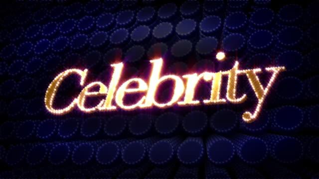 Celebrity Sparkle Glitz Text