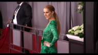 Celine Dion at the 59th Annual Grammy Awards Arrivals at Staples Center on February 12 2017 in Los Angeles California 4K