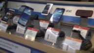 Cell Phones at Walmart on November 25 2013 in Los Angeles California