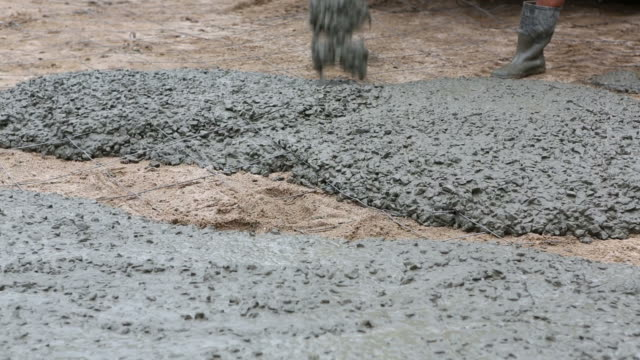 cement pouring