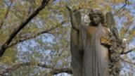 Cemetery Statue Close Up