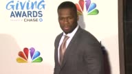 50 Cent at 2011 American Giving Awards in Los Angeles CA