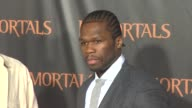 50 Cent at the 'Immortals' Los Angeles Premiere at Los Angeles CA
