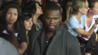 50 Cent at the 'The Twilight Saga New Moon' Premiere at Westwood CA