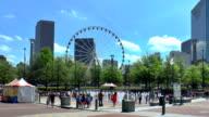 Der Centennial Olympic Park, Atlanta, Georgia