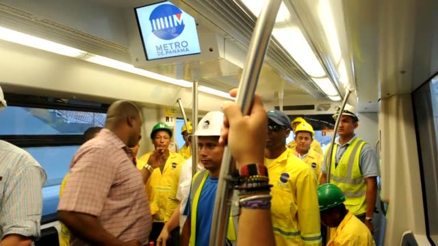 Central America's first metro system will start service in Panama at the end of 2013 President Ricardo Martinelli says during a test run CLEAN...