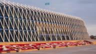 Central Asia, Kazakhstan, Astana, Palace of Independence