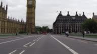 Central London Driving rear POV