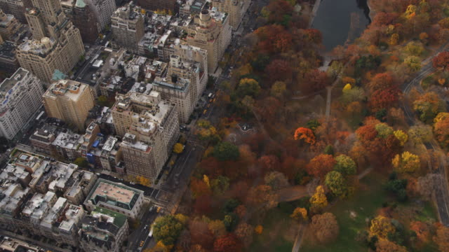 Central Park and East Side Manhattan, looking down at Fifth Avenue. Shot in 2011.
