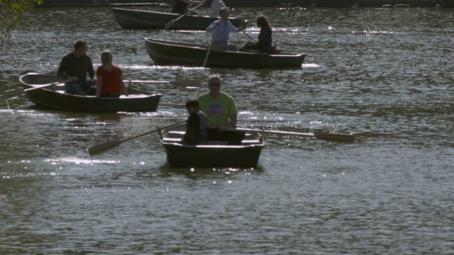 Central Park Boaters