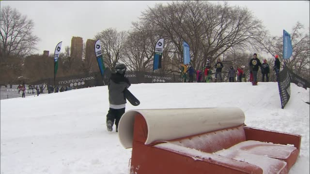 WPIX Central Park Winter Jam 2014 at Central Park on in New York City