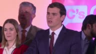 Centrist Ciudadanos leader Albert Rivera says millions of Spanish people voted for change after voters dealt a crushing blow to bi party politics in...