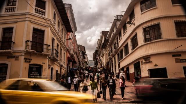 centro historico en quito ecuador
