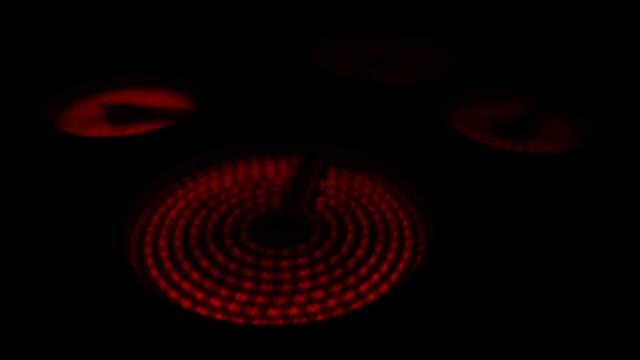 Ceran stove turn on