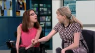 Cerebral Palsy sufferer completes Masters degree ENGLAND London GIR INT Therese Hunt interview SOT Talks of how she completed her degree and what her...