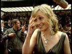Arrivals AnneMarie Duff interview SOT