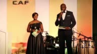 A ceremony held to celebrate the 60th anniversary of the foundation of the Confederation of African football in Addis Ababa Ethiopia on March 15 2017...