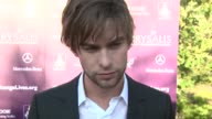 Chace Crawford on being a part of the night the importance of giving back saying hello to AnnaLynne McCord his summer plans at the 8th Annual...