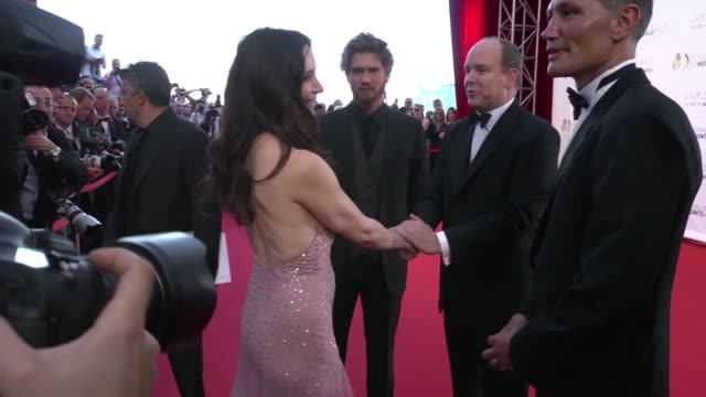 Chad Michael Murray Ted Danson Madeleine Stowe Prince Albert II of Monaco and Joseph Morgan at 52nd Annual Monte Carlo Television Festival Chad...