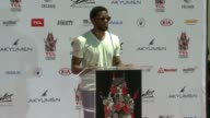 SPEECH Chadwick Boseman at TCL Chinese Theatre on July 18 2017 in Hollywood California