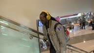 2 Chainz departing at LAX Airport in Los Angeles on February 09 2016 in Los Angeles California