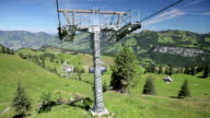 Chairlift from Mount Klingenstock