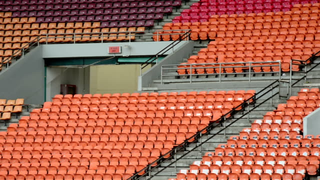 Chairs before a match.