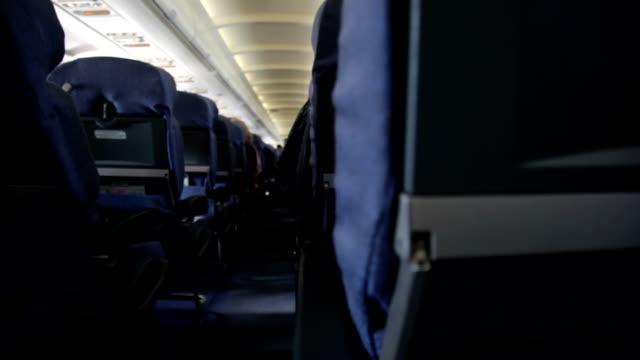 Stühle im Flugzeug