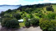 Chalet, house, nature, countryside, trees, landscape, Coromandel, N