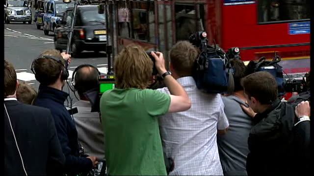 Chambers arriving at court ENGLAND London High Court EXT Athlete Dwain Chambers arriving at court to hear judgement in the case that would allow him...