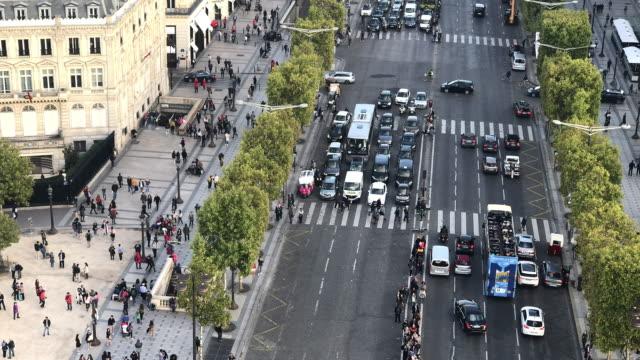 Champ Elysees street in Paris