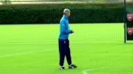 Arsenal training ENGLAND London Colney Arsenal squad training