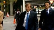 Chelsea beaten by Napoli ENGLAND London Roman Abramovich arriving at court