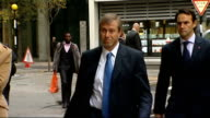 Chelsea v Valencia match preview T06101151 Roman Abramovich arriving at court
