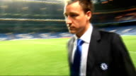 Chelsea departures following defeat to Barcelona ENGLAND London Stamford Bridge EXT / NIGHT Pep Guardiola along John Terry along Ashley Cole along...