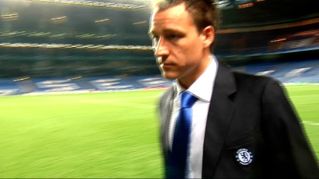 Chelsea departures following defeat to Barcelona ENGLAND London Stamford Bridge EXT / NIGHT Pep Guardiola along John Terry along Ashley Cole along...