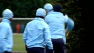 Tottenham Hotspur training ENGLAND Essex Chigwell Spurs Lodge EXT Tottenham Hotspur players including Jermain Defoe Aaron Lennon Peter Crouch Vedran...