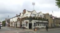 Behindthescenes at Brentford FC The Princess Royal pub on street corner