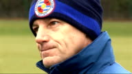 Reading FC training / Steve Coppell interview Coppell interviewed Steve Coppell interview SOT Upcoming Swansea fixture / Reading's position in the...