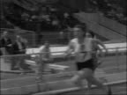London White City EXT 100 yards race as won by Dorothy Hyman / Hyman / Senior 100 yard race as won by Heather Young / CU Heather Young / Spectators /...