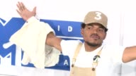 Chance the Rapper at 2016 MTV Video Music Awards Arrivals at Madison Square Garden on August 28 2016 in New York City
