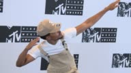 Chance the Rapper at 2016 MTV Video Music Awards Press Room at Madison Square Garden on August 28 2016 in New York City
