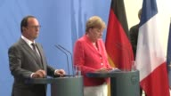Chancellor Angela Merkel and French President Francois Hollande called Monday for a unified response to Europe's biggest migrant crisis since World...