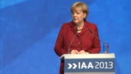 Chancellor Angela Merkel on Thursday defended Germanys big hitting carmaking industry which is battling new EU environmental rules on an election...