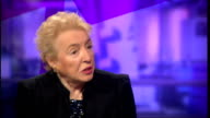 Chancellor wants to stop tax avoidance schemes ENGLAND London GIR INT Dame Stephanie Shirley LIVE STUDIO interview SOT talks of people thinking of...