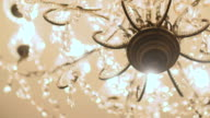 Chandelier close up.