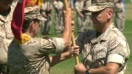 KSWB Change Of Command At Camp Pendleton on June 25 2015 Kernel Roberta Shay takes over the headquarters division of the 1st Marine Expeditionary...